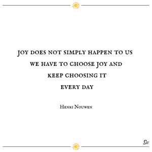 Henri Nouwen quote on joy