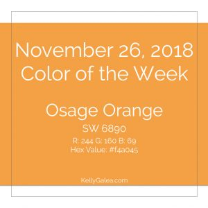 Color of the Week - November 26 2018