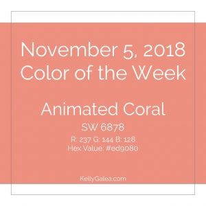 Color of the Week - November 5 2018