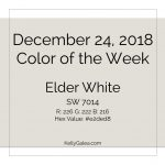 Color of the Week - December 24 2018