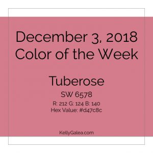 Color of the Week - December 3 2018