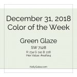 Color of the Week - December 31 2018