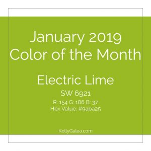 Color of the Month - January 2019