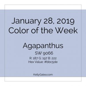Color of the Week - January 28 2019