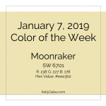 Color of the Week - January 7 2019
