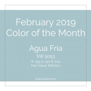 Color of the Month - February 2019