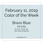 Color of the Week - February 11 2019