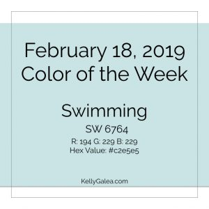 Color of the Week - February 18 2019
