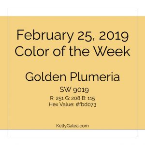 Color of the Week - February 25 2019