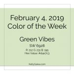 Color of the Week - February 4 2019