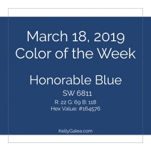 Color of the Week - March 18 2019