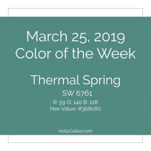 Color of the Week - March 25 2019