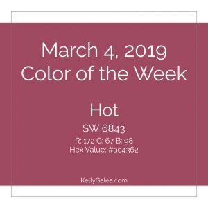 Color of the Week - March 4 2019