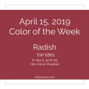 Color of the Week - April 15 2019