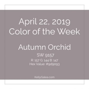 Color of the Week - April 22 2019
