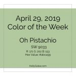 Color of the Week - April 29 2019