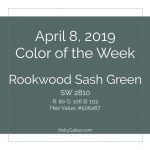 Color of the Week - April 8 2019