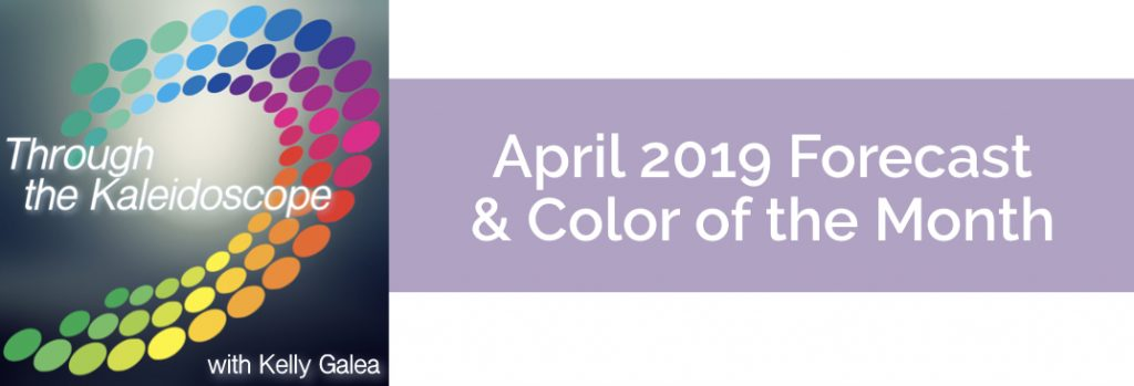 Forecast & Color for April 2019