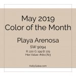 Color of the Month - May 2019