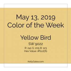 Color of the Week - May 13 2019