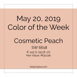Color of the Week - May 20 2019