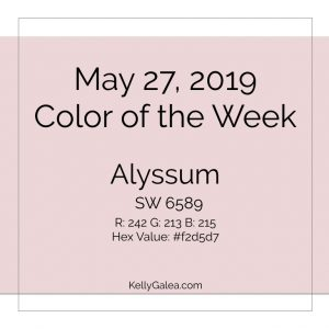 Color of the Week - May 27 2019