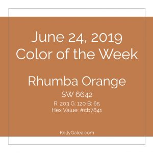 Color of the Week - June 24 2019