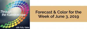 Forecast & Color for the Week of June 3 2019