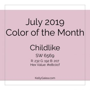 Color of the Month - July 2019