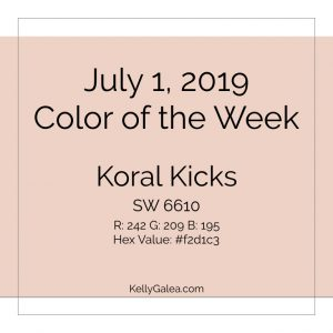 Color of the Week - July 1 2019
