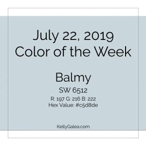 Color of the Week - July 22 2019