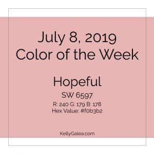 Color of the Week - July 8 2019