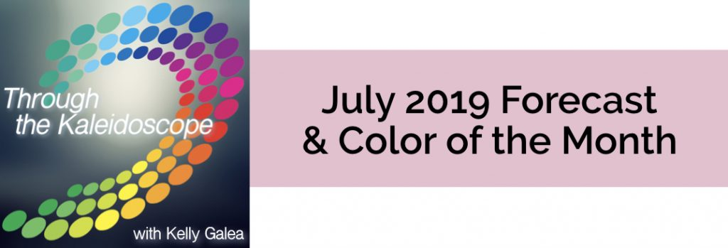 Forecast & Color for July 2019