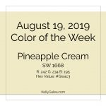 Color of the Week - August 19 2019