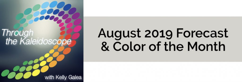 Forecast & Color for August 2019