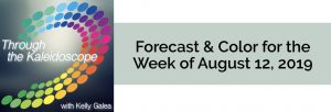 Forecast & Color for the Week of August 12 2019