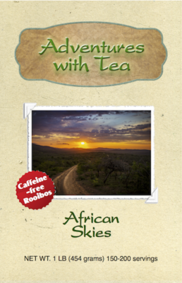 African Skies from Adventures with Tea