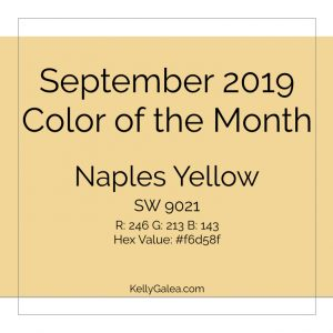 Color of the Month - September 2019