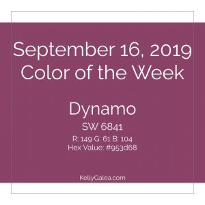 Color of the Week - September 16 2019