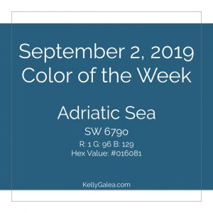 Color of the Week - September 2 2019