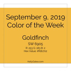 Color of the Week - September 9 2019