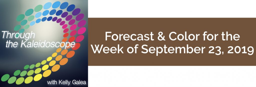 Forecast & Color for the Week of September 23 2019