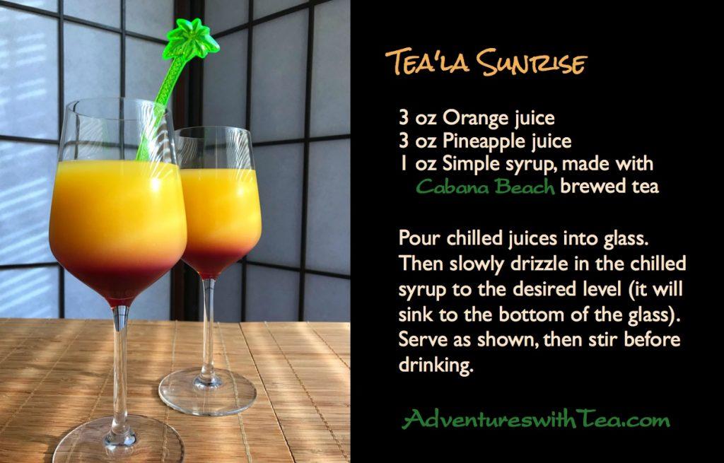 Tea'la Sunrise