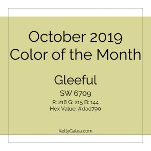 Color of the Month - October 2019