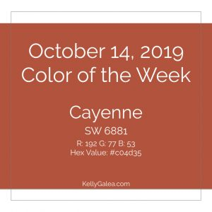 Color of the Week - October 14 2019