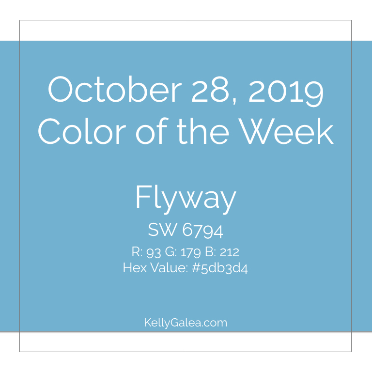 Color of the Week - October 28 2019
