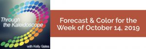 Forecast & Color for the Week of October 14 2019