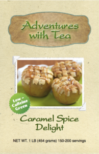 Caramel Spice Delight green tea from Adventures with Tea
