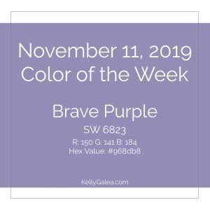 Color of the Week - November 11 2019