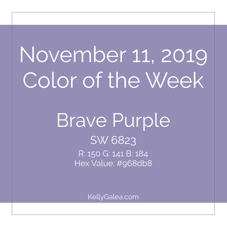 Color of the Week - November 11 2019